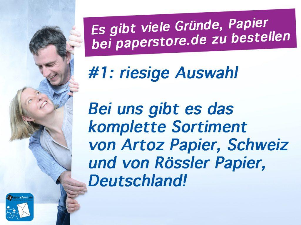 peperstore Papier von Artoz und Rössler online, Artoz Papier, Rössler Papier