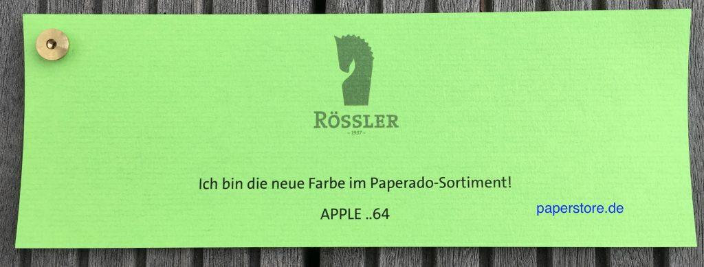 Rössler Paperado