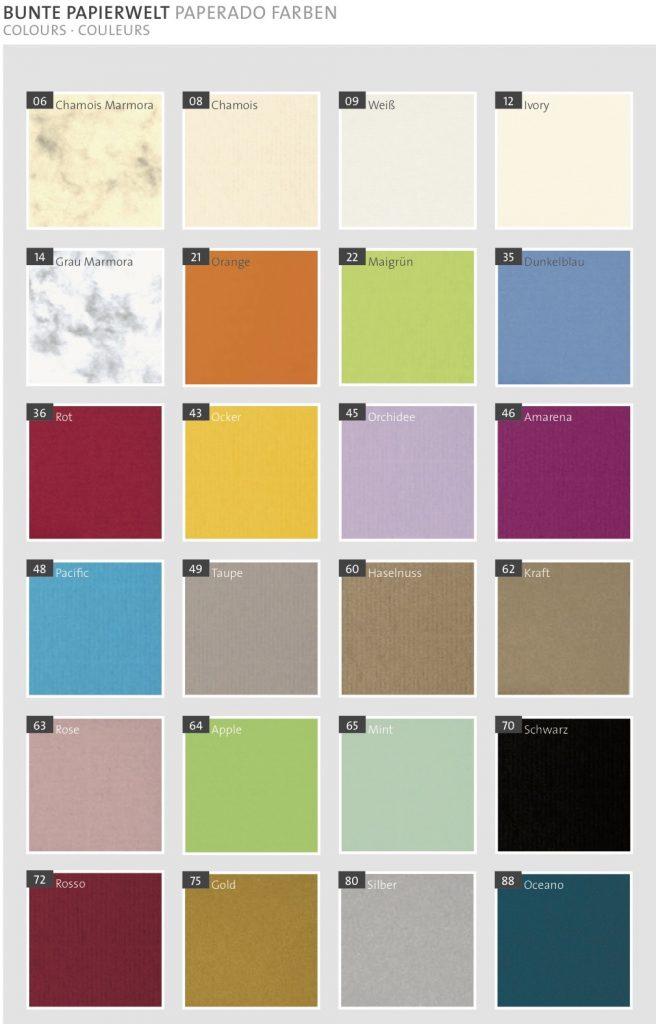 Rössler Papier Farben 2018